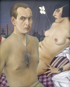 Self-Portrait 1927 by Christian Schad. Image from Tate Modern